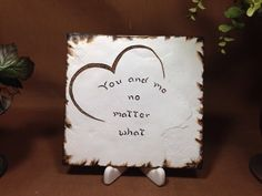 You and me No matter what by Artsco on Etsy