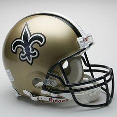 Riddell New Orleans Saints Authentic On-Field Helmet
