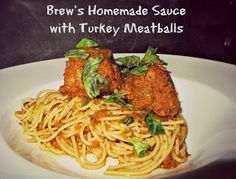 The Sideways House: Brew's First Post – Spaghetti and Meatballs