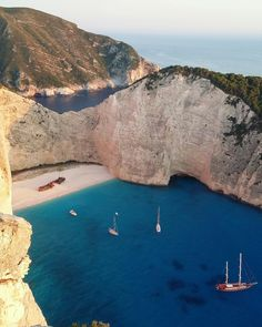 Navajo beach in Zakinthos.