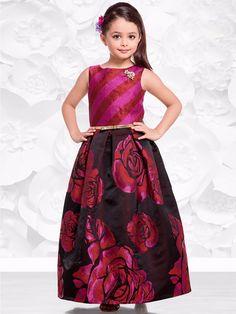 Pink Silk Gown.