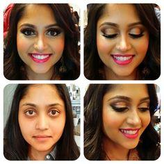 Makeup inspiration for Pakistani or South Asian brides. Makeup by Nalani Bott (beautybott), a Makeup Artist based out of Atlanta, GA. Bookings: info@beautybott.com.  #atlmua #atlmakeupartist #atlantamua #atlantamakeupartist #makeupartist #mua #makeup #pakistanibride #southasianbride #indianbride #indianbridal #bridaltrialrun #beforeandafter
