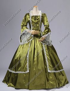 victorian Period gowns | ... Antoinette Victorian French Formal Period Dress Ball Gown Stage Wear