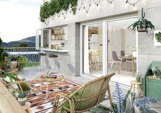 Otra propuesta para barra americana entre cocina y terraza, esta vez para nuestra próxima promoción en Llanes, Asturias. Patio, Outdoor Decor, Instagram, Home Decor, Terrace, Cooking, Decoration Home, Room Decor, Home Interior Design