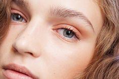 Rodarte Spring 2016 (NARS Dual Intensity Blush in Craving as eyeshadow and highlight, NARS Velvet Matte Lip Pencil in Belle de Jour)