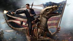 Reagan on a Raptor!!
