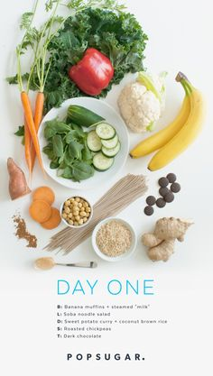 Day 1 Recipes: Clean-Eating Plan