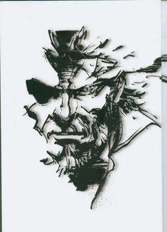 Synteza historii i sztuki: Yoji Shinkawa - The Art of Metal Gear Solid: Peace Walker