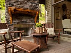 Discover serenity by visiting these relaxing outdoor spaces from past DIY Blog Cabins.