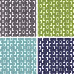 On trend geometric prints from Simply Style by V & Co for Moda Fabrics