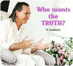 """""""Who wants the Truth? Who wants to Awake? I want to give you this! All my effort is in this direction but you are very enchanted with your cloudy days!"""" Master Gualberto  """"Quem quer a Verdade?""""  """"Quem quer a Verdade? Quem quer Despertar? Eu quero lhe dar Isso! Todo o meu esforço está nessa direção mas você está muito encantado com seus dias nublados!"""" Mestre Gualberto   #ramanashramgualberto #mestregualberto #satsang #ramana #ramanamaharshi #quoteoftheday #guru #pranayama #buda #goodvibes…"""
