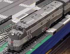 Lego Trains at Brickworld 2011 by asleepatheswitch, via Flickr