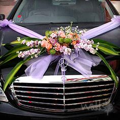 153 Best Wedding Car Decoration Images On Pinterest Engagement