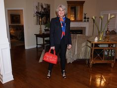The guiding style principle of my aging journey is to add softness to what I already have to make it continue to work for me. That includes hair, makeup, clothing, and accessories. When I visited with