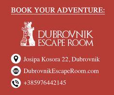 Enjoy some mystery these holidays! #dubrovnik #croatia #escaperoom #gameofthrones