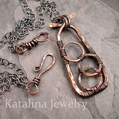 Jump Rings Tutorial - Basic Wire Working Technique Series | Welcome back to my teaching series featuring basic wire working techniques. Today I will be sharing how to make jump rings. | From: katalinajewelry.blogspot.com