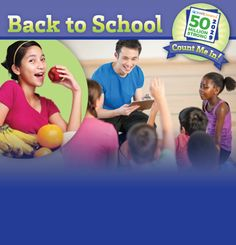 Visit our back to school site for resources to help shape 50 million strong! #SHAPE50Million