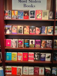 The most frequently stolen books from bookstores and libraries