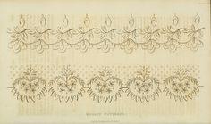 Needlework pattern. Ackermann Dec 1826