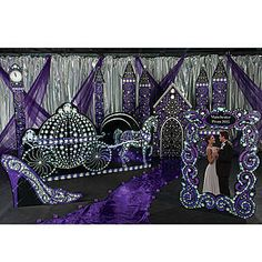 Black and Bling Fairytale Theme Kit