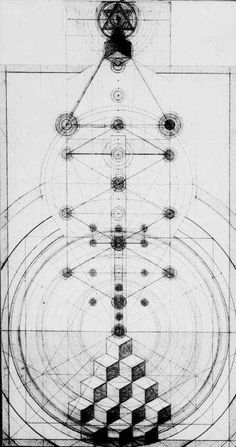 Alchemical Emblems, Occult Diagrams, and Memory Arts: The Inner Geometry of… Monte Fuji, Occult Art, Mystique, Emblem, Sacred Geometry, Geometric Shapes, Magick, Tarot, Graphic Design