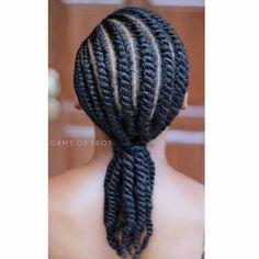 Flat Twist Styles, Hair Twist Styles, Flat Twist Hairstyles, Flat Twist Updo, Girls Natural Hairstyles, Braided Hairstyles, Short Hair Styles, Protective Hairstyles, Kid Hairstyles