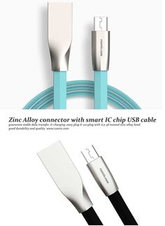 ZINC ALLOY CONNECTOR SMRT IC CHIP USB CABLE