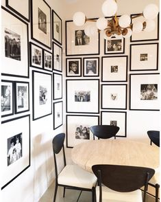 """Nicole S. Davis on Instagram: """"Corner gallery wall installed and finished at #mountainranchproject! This gallery wall showcases my client's family photos. I love when spaces tell a story and history of the people living in them. @batesartservices #nicoledavisinteriors"""""""