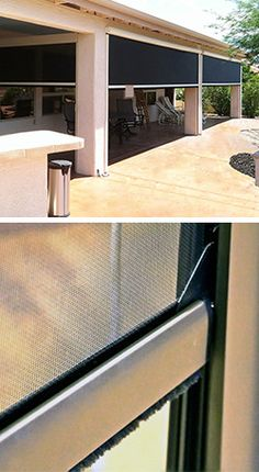 The Power Of The Fortress Outdoor Shades - North Solar Screen