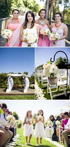 Beautiful Blush and Coral Barn Wedding in California | WeddingWire: The Blog