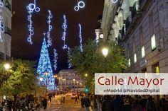 Calle Mayor de Madrid en Navidad 2016 / 2017