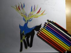 This Xerneas my dear friends took me... actually more than 5 hours.... And I am so tired....so...Yeah!