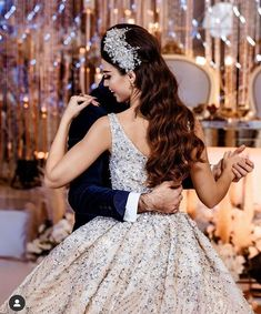 Romantic Wedding Hair, Dream Wedding Dresses, Wedding Groom, Bridal Dresses, Flower Girl Dresses, Wedding Couple Poses Photography, Girl Photography Poses, Afghan Wedding Dress, Neutral Wedding Colors