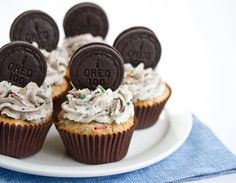 Oreo Funfetti Cupcakes -- This delicious recipe brought to you by: KIRBIE'S CRAVINGS | A SAN DIEGO FOOD BLOG