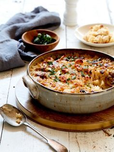 Chicken and Mushroom Baked Risotto Recipe | myfoodbook