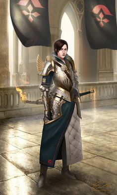 RPG Female Character Portraits : Photo
