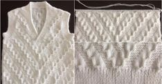 How to Make A Knitted Baby Sweater? Straight Weave, Straight Stitch, Hairstyle Trends, January Baby, Romanian Lace, Hobby Tools, Easy Model, Knit Baby Sweaters, Moda Emo