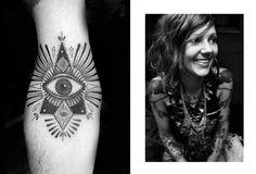 all seeing eye | tattoo artist: Minka Sicklinger