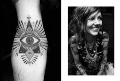 all seeing eye | tattoo artist: Minka Sicklinger
