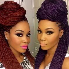 #Samegirl....color #350 and color Violet.... ❤️