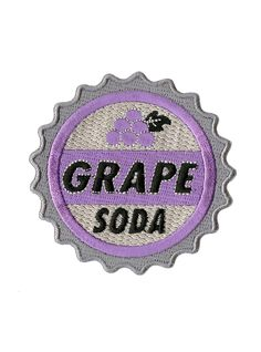 "<p>Update your favorite denim jacket with this grape soda patch from Disney's<i> Up</i>.</p>  <ul> 	<li>2 ¾ x 3""</li> 	<li>Imported</li> </ul>"