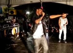 Watch Mobay deejay Tommy Lee Sparta performing at Western All School Jam, bigs up the GAZA