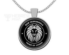 Hebrew Israelite Jewelry & Necklaces For The 12 by HebrewPrint Tribal Necklace, Silver Chain Necklace, Men Necklace, Jewelry Necklaces, Pendant Necklace, Girl Tribe, Tribe Of Judah, Lion Of Judah, Necklace Lengths