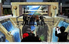 Largest 3-d painting by Qi Xinghua Amazing Design | 7 Amazing Creations - Part 26