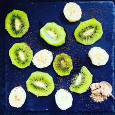 with powder. & & full of ingredients!, with powder. & & full of ingredients! with powder. Superfoods, Kiwi, Smoothie, Workout Diet Plan, Fitness Diet, Pineapple, Powder, Fruit, Healthy