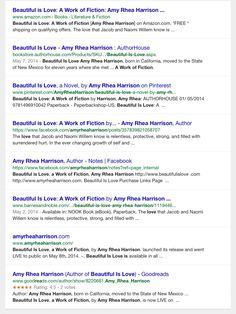 Google it! www.beautifulislove.com #fiction #crime #thriller #google #Amazon #Nook www.amyrheaharrison.com #author