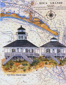 Boca Grande Lighthouse - Donna Elias Studios, LLC