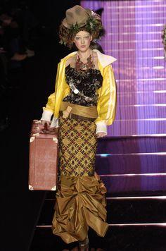 John Galliano Fall 2004 #fashion
