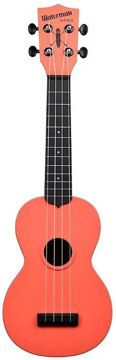 Kala The Waterman Soprano Ukulele Tomato Red