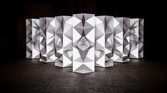 Stage Design // Projection // Kit Webster // Dion Lee NYFW